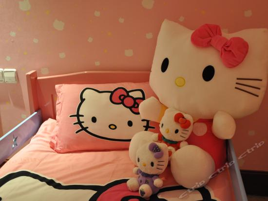 Hello kitty Family Theme Room