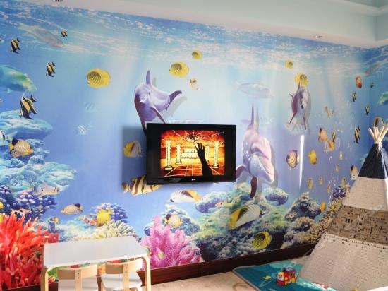 海底世界親子主題房