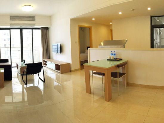 Superior Business 2-bedroom and 2-living room