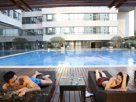 室外常溫泳池