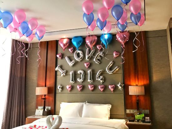 Romantic Decorated Room