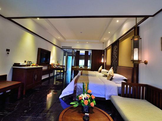 水寨别墅高级双床房