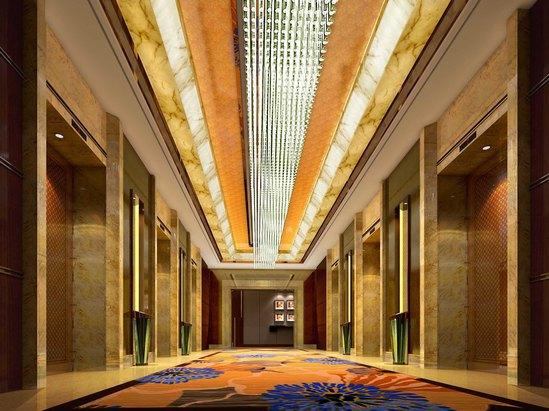 客房层电梯厅