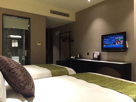 和颐景观双床房