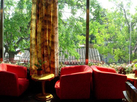 二楼四合院风情咖啡厅