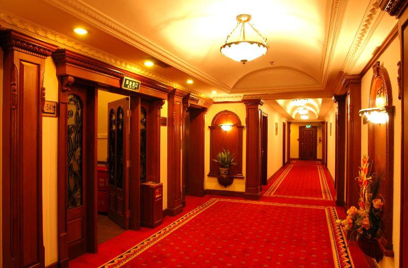 客房楼层corridor