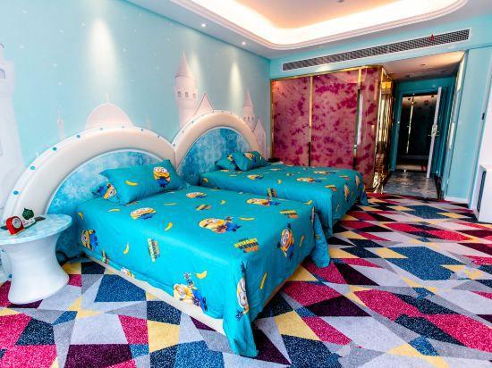 卡通亲子双床房A