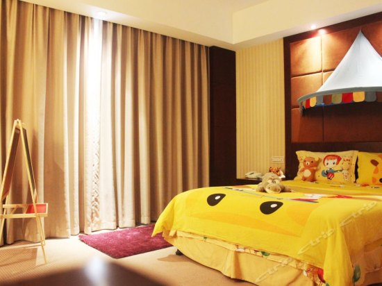 Bule Sea Warm Thematic  Room