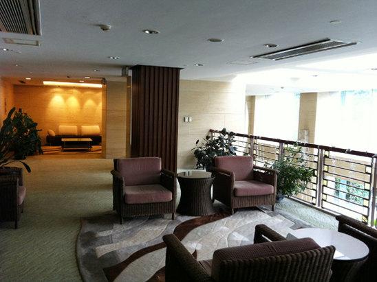 會議室門口休息區