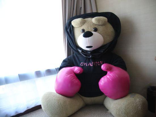 泰迪熊主题亲子套房