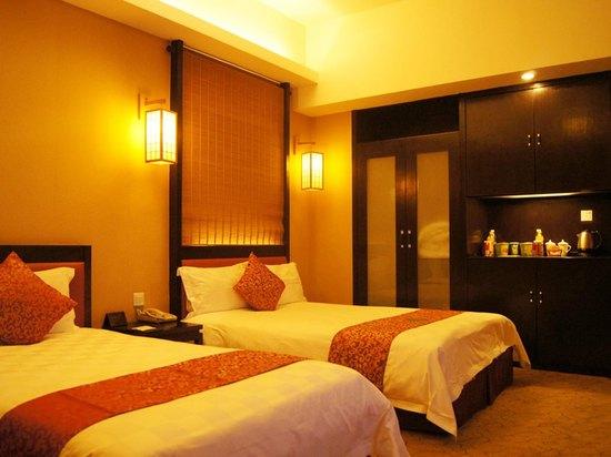 中式豪華雙床房