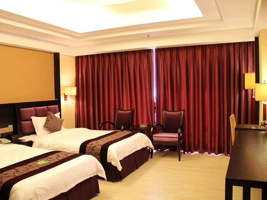 中式高級雙床房