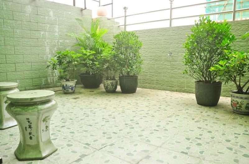 花園大床房