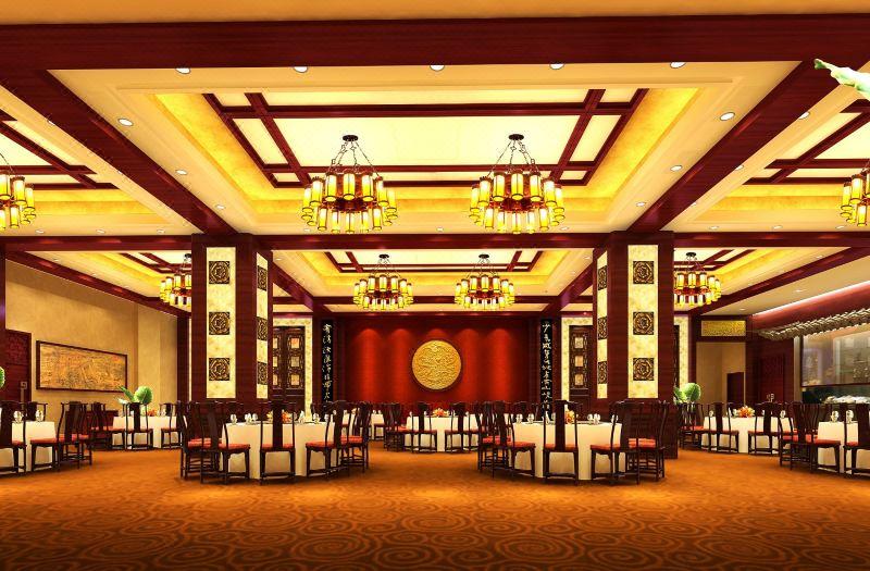 鸿桃轩中餐厅大厅