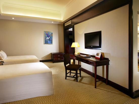 高級海景雙床房