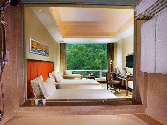 高級山景雙床房
