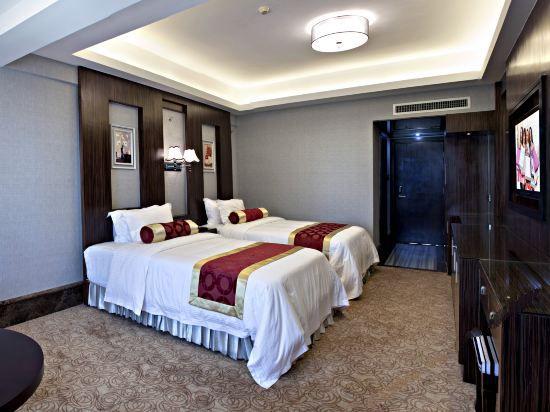 豪华城景双床房
