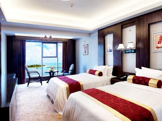 豪華海景雙床房