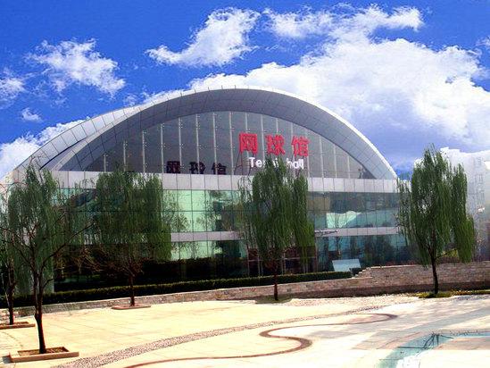 绿树蓝天网球馆