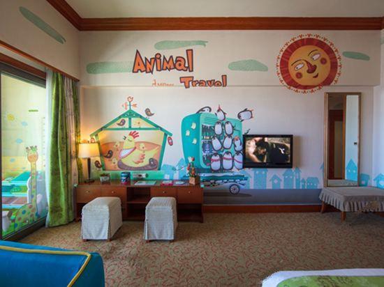 动物旅行亲子家庭房