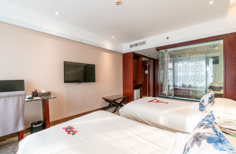 牡丹主題雙床房