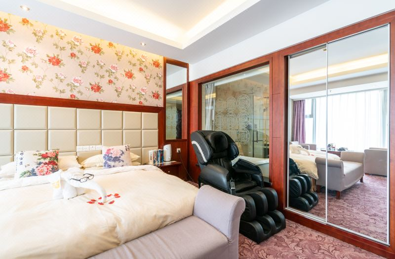 Business Peony Theme Single Room