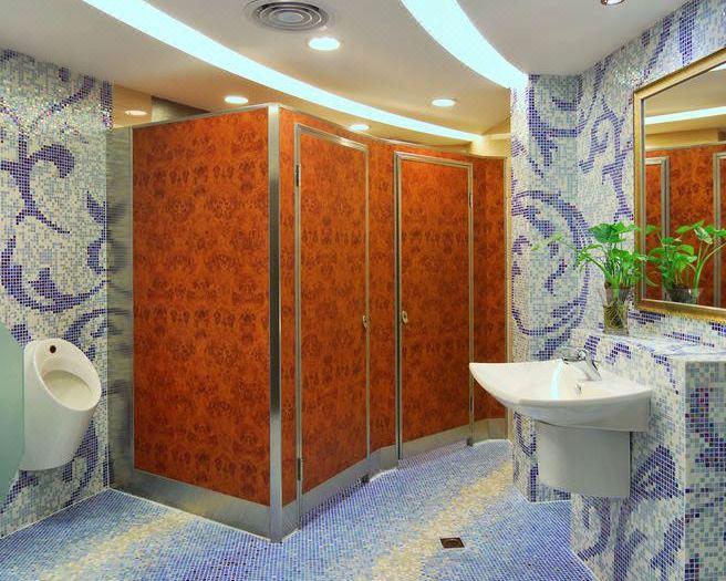 中餐厅洗手间