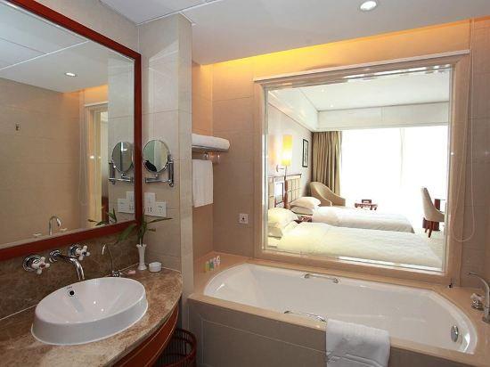 豪華景觀雙床房