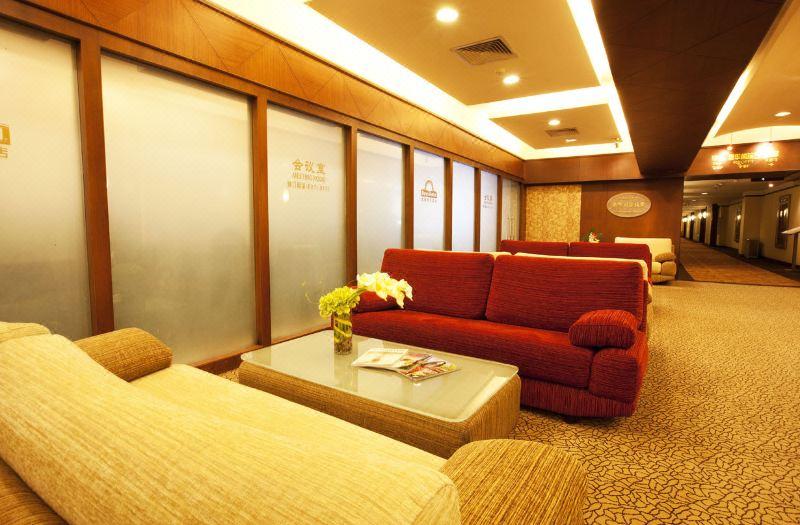 九楼会议室休息区域