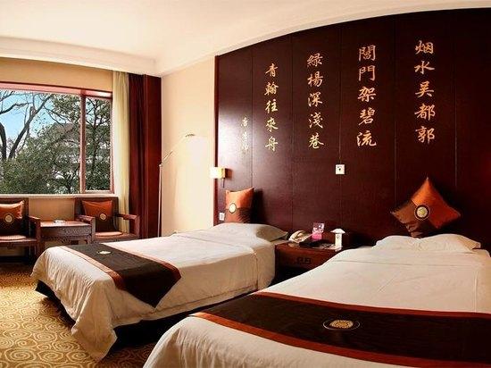 山水樓標準雙床房