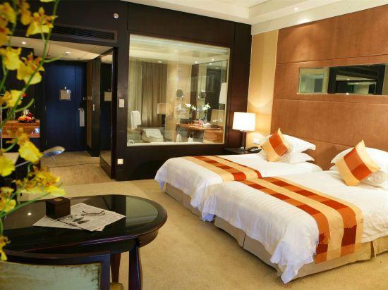 迎賓樓豪華雙床房