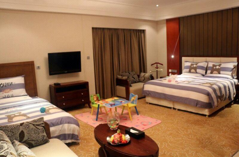 Villa B Characteristic Family Room