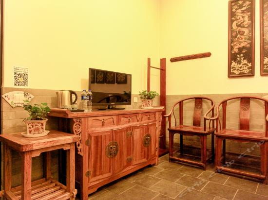 Ming and Qing Dynasties Deluxe Big Adobe Kang Room
