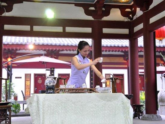 茶藝表演-花茶