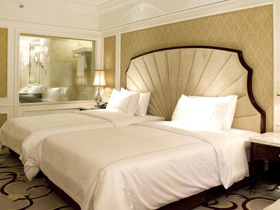B座贵宾园景双床房
