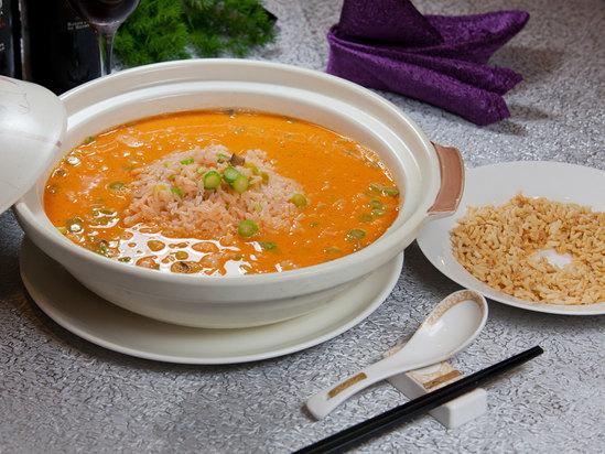 龙虾汤泡饭