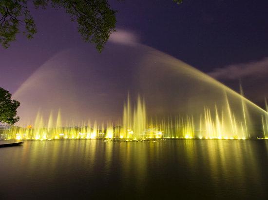 西湖音樂噴泉