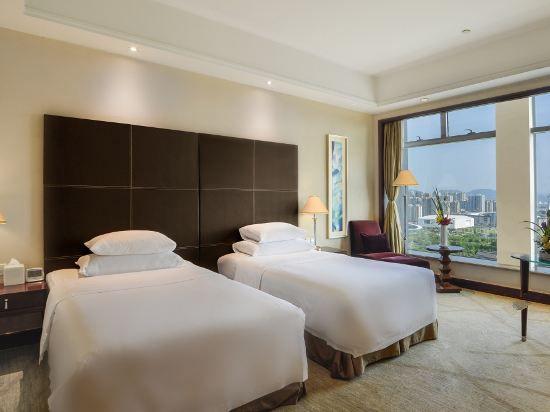 高級園景雙床房