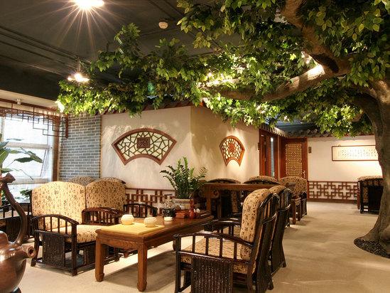 茶藝館大廳
