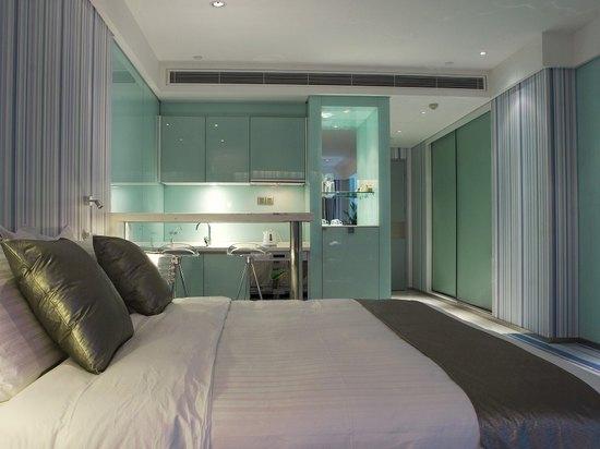 透明时代主题大床房