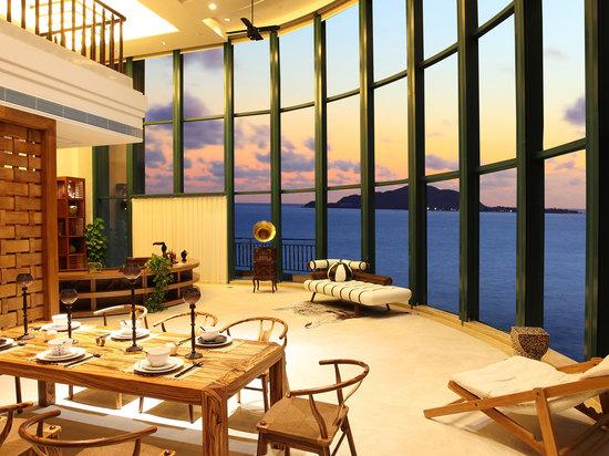 超级海景家庭套房(四房一厅)