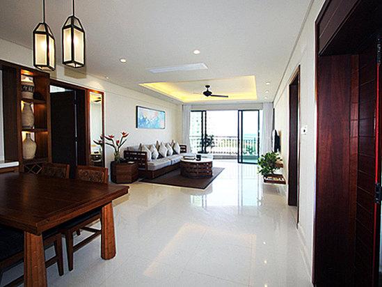 豪华海景家庭房(两房一厅)