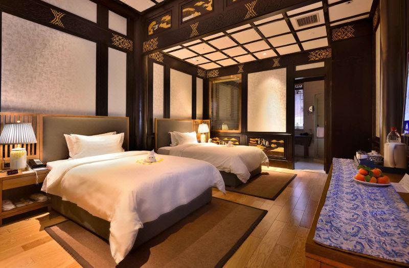 豪华双床房