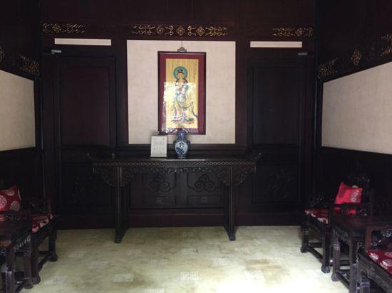 Baihuatan Courtyard Fuite