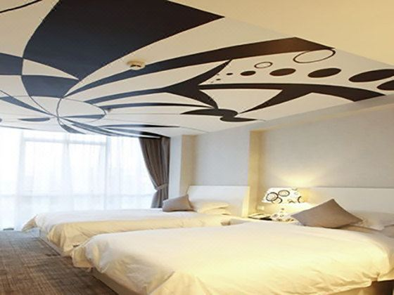 藝術主題雙床間