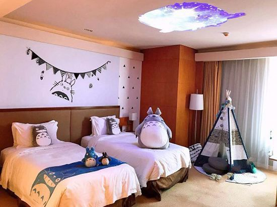 Totoro Sky Thematic Room