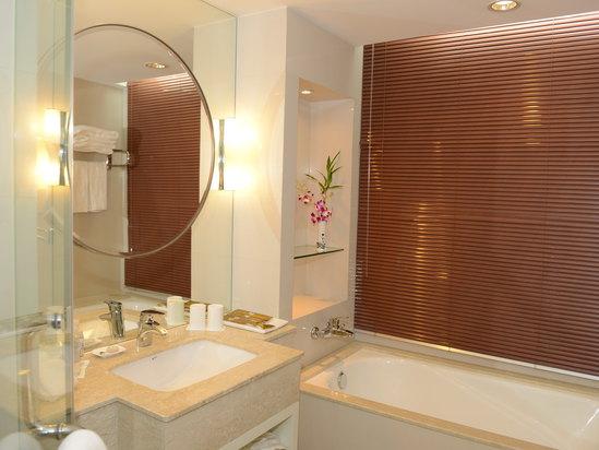 高級豪華雙床房-浴室