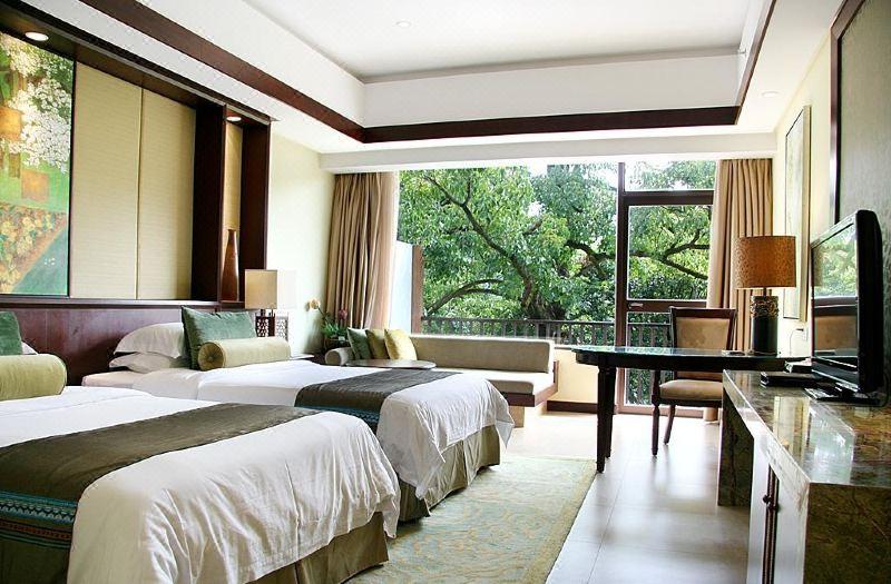 河景豪華雙床房