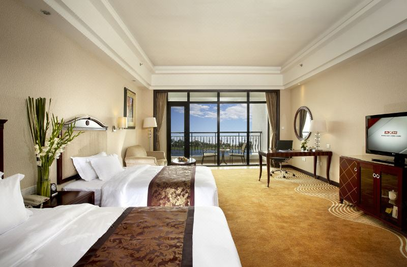 Classical European Balcony Twin Room