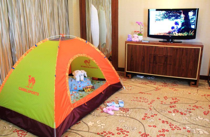 帐篷亲子房